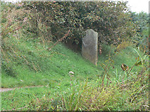 SJ9276 : Macclesfield Canal Milestone by Alan Murray-Rust