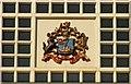 J4187 : Railway Coat of Arms, Carrickfergus by Albert Bridge