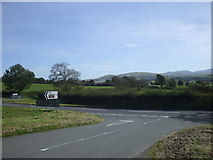 NY0924 : Junction on the A5086 by John Lord