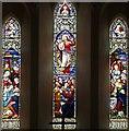 TF6424 : All Saints, North Wootton, Norfolk - Window by John Salmon