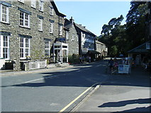 NY3816 : A592 in Glenridding Village by Colin Pyle