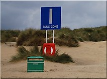 TQ9618 : The I meeting point, Camber Sands by N Chadwick