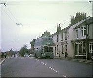 NZ5518 : Tees-side trolleybus at Eston Square by David Hillas