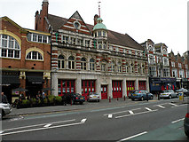 SZ0991 : The Old Fire Station, Holdenhurst Road by Keith Edkins