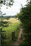 TQ1148 : Bridleway at Deerleap Wood by Hugh Craddock