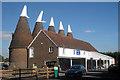 TQ6747 : Bell 2 Oast House, Beltring Hop Farm, Beltring, Kent by Oast House Archive