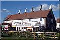 TQ6747 : Bell 3 Oast House, Beltring Hop Farm, Beltring, Kent by Oast House Archive