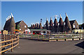 TQ6747 : Oast Houses at The Hop Farm, Beltring, Kent by Oast House Archive