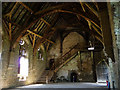 SO4381 : Stokesay Castle, the great hall by Chris Gunns
