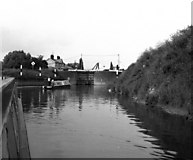 SO8453 : Diglis Locks, River Severn, Worcester by Dr Neil Clifton