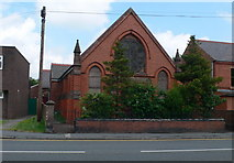 SJ3057 : Disused chapel on the High Street in Caergwrle by Eirian Evans