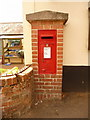 ST8425 : Motctombe: postbox № SP7 31, The Street by Chris Downer