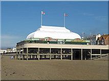 ST3049 : The pier, Burnham-on-Sea by Ken Grainger