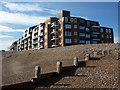 SZ9398 : Seafront flats, Bognor Regis by Andrew Hill