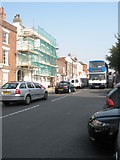 SU5806 : 69 bus in the High Street by Basher Eyre