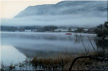 NY3916 : Mist over Ullswater by Sharon Leedell