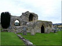 NJ0661 : Kinloss Abbey by Ann Harrison