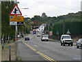 TQ7888 : The Bread and Cheese Hill on the A13, Benfleet by John Rostron