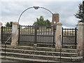 SJ4114 : Steep steps to church by John Firth