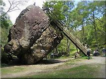 NY2516 : Bowder Stone by Shaun Ferguson