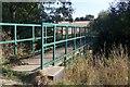 TQ6836 : Footbridge over River Teise by David Anstiss