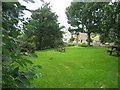 NY7287 : Falstone village green/picnic area by Les Hull
