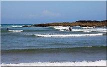 SS2006 : Surfing on Summerleaze Beach by Steve Daniels