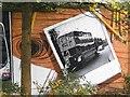 NS5766 : Mural, Kelvingrove Park. 13 - Bus, not for shoving grannies off by Richard Webb