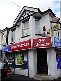 SZ0893 : Bournemouth : Winton - Mini Golden Supermarket Off Licence by Lewis Clarke