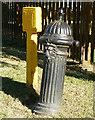 SO9801 : Pump and hydrant, Quaker Row, Coates by Brian Robert Marshall