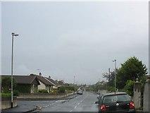 J3731 : View north-westwards along Larchfield Park by Eric Jones