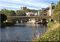 NZ2742 : River Wear, Durham (2) by Andrew Hackney