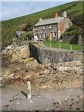 SW9780 : Quay Cottage, Port Quin by Philip Halling