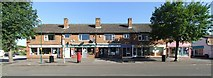 SK6443 : Village shops by johnfromnotts