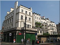 TQ2780 : Buildings at the north end of Park Lane, W1 by Mike Quinn