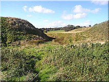 NY9393 : Motte and Bailey Castle at Elsdon by Oliver Dixon