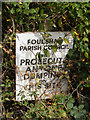 TG0524 : Warning sign on Reepham Road by Adrian Cable