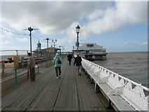 SD3036 : Blackpool North Pier by Gerald Massey
