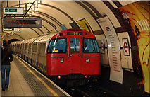 TQ2882 : Train leaving Regents Park underground station by Andy F