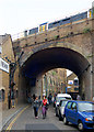 TQ3280 : Railway arch over Stoney Street, Borough, south London by Andy F
