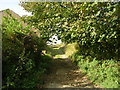 SE0927 : Ringby Lane - Ploughcroft Lane by Betty Longbottom