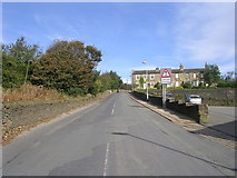 SE0927 : Swales Moor Road - viewed from Ploughcroft Lane by Betty Longbottom
