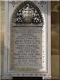 ST8992 : Paul family gravestone St Mary's Tetbury. by Paul Best