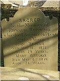 ST8992 : Titcumb gravestone St Mary's Tetbury. by Paul Best
