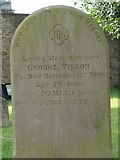 ST8992 : Wilson family gravestone St Mary's Tetbury. by Paul Best
