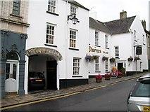 J4844 : Denvir's Hotel, English Street,  Downpatrick by Eric Jones