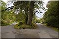 NM7701 : Road junction at Kirkton by Tom Richardson