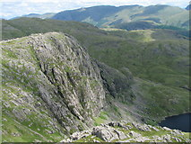 NY2807 : Pavey Ark from Harrison Stickle by K  A