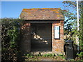 TQ9832 : Bus Shelter at The Leacon by Oast House Archive