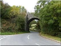 SO1872 : Railway bridge by Alan Spencer
